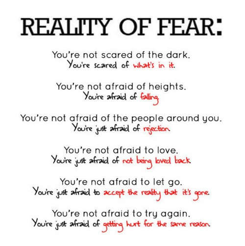 Fear of Reality